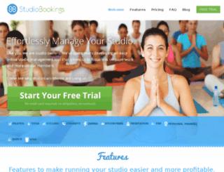 devapp.studiobookingsonline.com screenshot