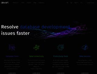 devart.com screenshot