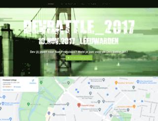 devbattle.nl screenshot