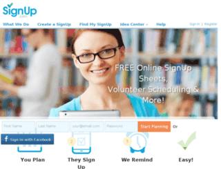 devbox.volunteerspot.com screenshot
