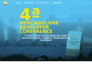 devconf.mercadolivre.com screenshot