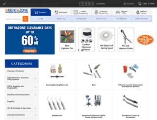 devdenta.dentazone.com screenshot
