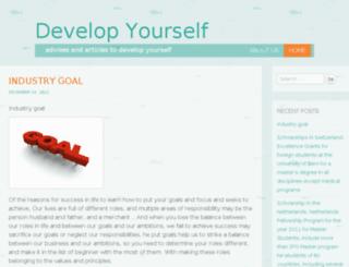 develop-urself.com screenshot