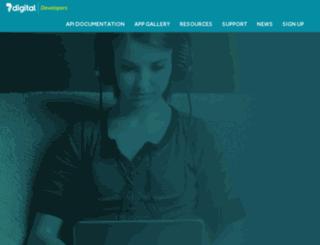 developer.7digital.com screenshot