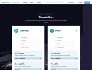 developer.dash-player.com screenshot