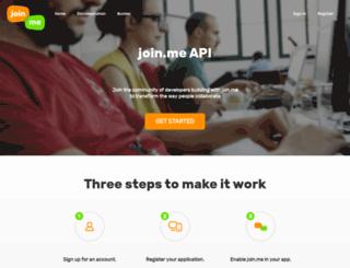 developer.join.me screenshot