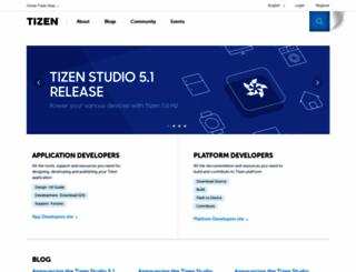 developer.meego.com screenshot