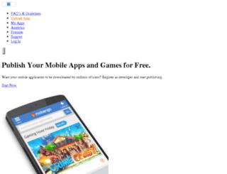 developer.mobango.com screenshot