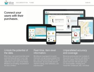 developer.slice.com screenshot