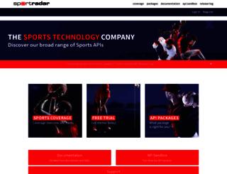 developer.sportsdatallc.com screenshot