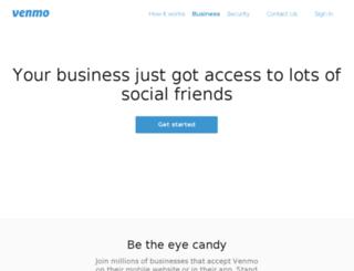 developer.venmo.com screenshot