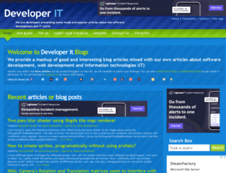 developerit.com screenshot