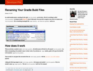 developerphil.com screenshot