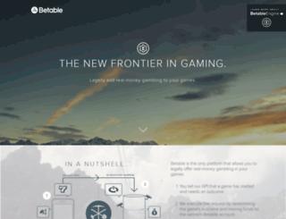 developers.betable.com screenshot