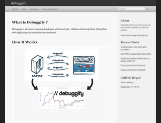 developers.debuggify.net screenshot