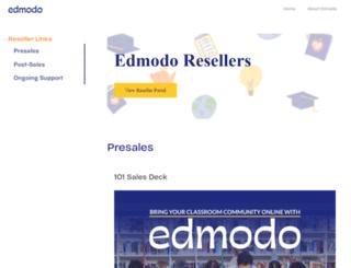 developers.edmodo.com screenshot