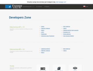 developers.espago.com screenshot