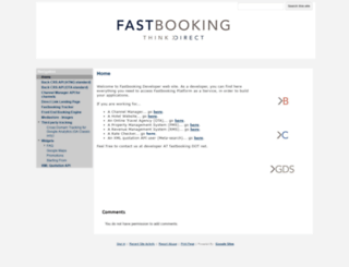 developers.fastbooking.net screenshot