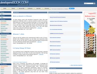 developersbook.com screenshot