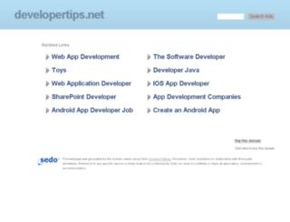 developertips.net screenshot