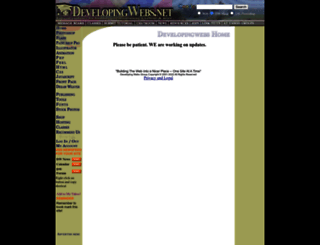 developingwebs.net screenshot