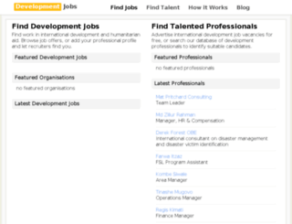 development-jobs.org screenshot