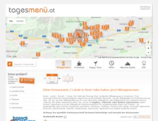 development.tagesmenue.at screenshot