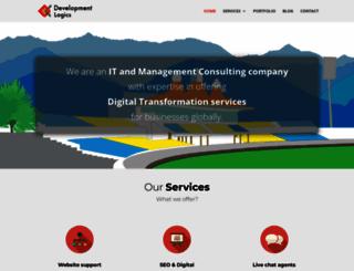 developmentlogics.com screenshot