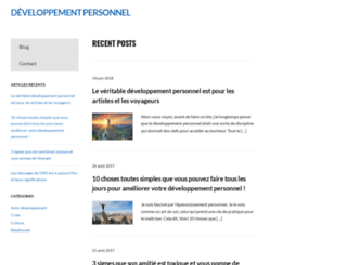 developpementpersonnel.fr screenshot
