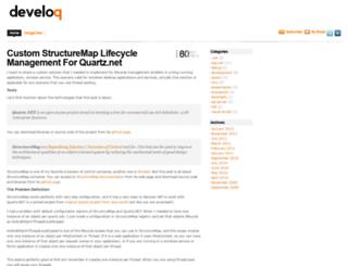 develoq.net screenshot