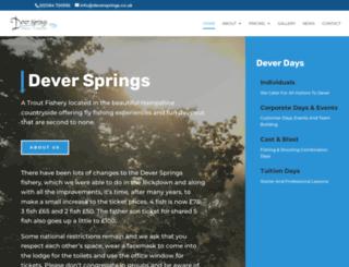 deversprings.co.uk screenshot