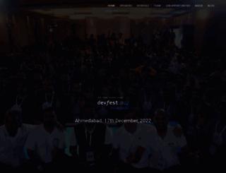 devfest.gdgahmedabad.com screenshot