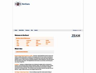 devguru.com screenshot