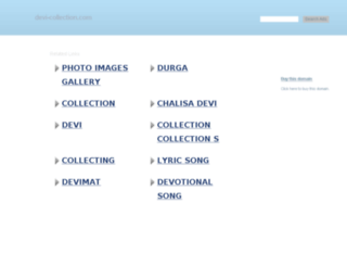 devi-collection.com screenshot