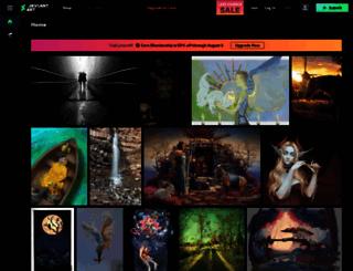 deviantart.com screenshot