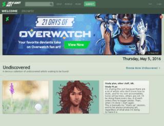 deviantart.net screenshot