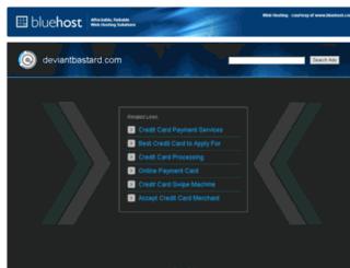 deviantbastard.com screenshot