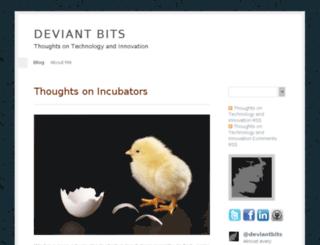 deviantbits.com screenshot