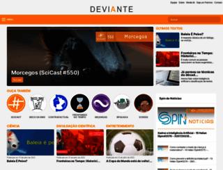 deviante.com.br screenshot