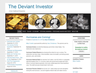 deviantinvestor.com screenshot