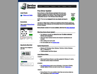devicedoctor.com screenshot