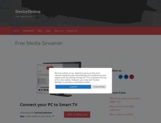 deviceonline.net screenshot