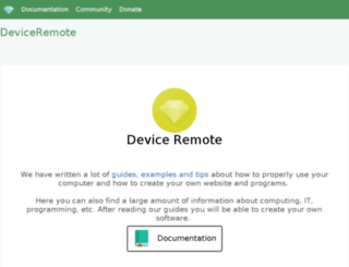 deviceremote.com screenshot