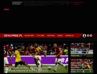 devilpage.pl screenshot