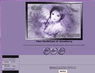 devilseystrawberry.forumdediscussions.net screenshot