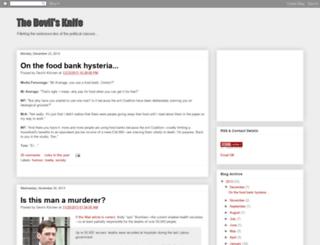 devilsknife.blogspot.ie screenshot