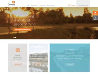 devine.com.au screenshot