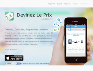 devinezleprix.fr screenshot