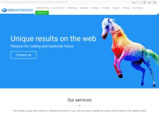 devinterface.com screenshot