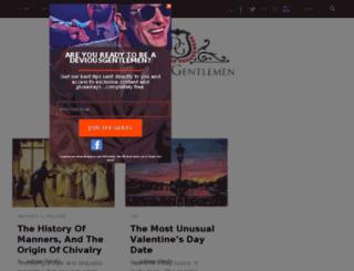 deviousgentlemen.com screenshot